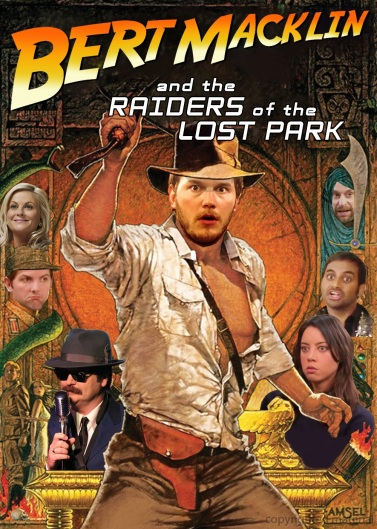 Bert Macklin and the Raiders of the Lost Park